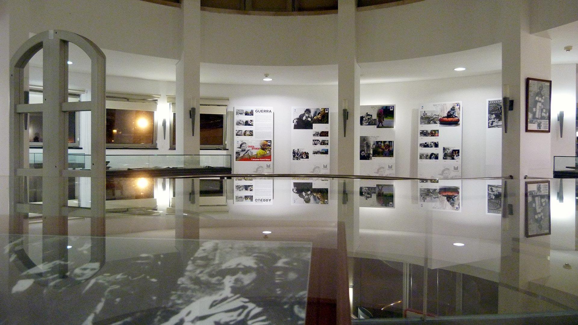 Interior of Memorial Space of the Exiles - Estoril / Cascais / Fundação D. Luís I