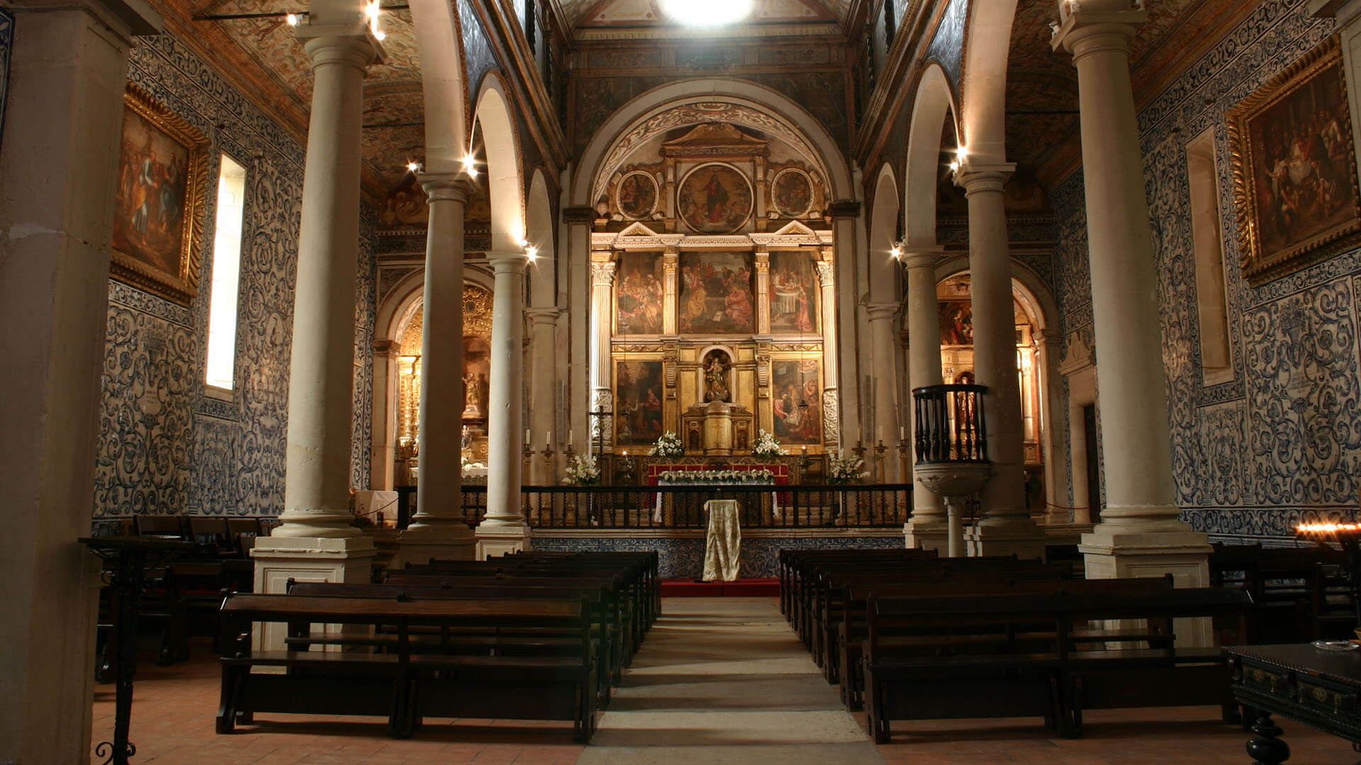 Interior of Santa Maria Church