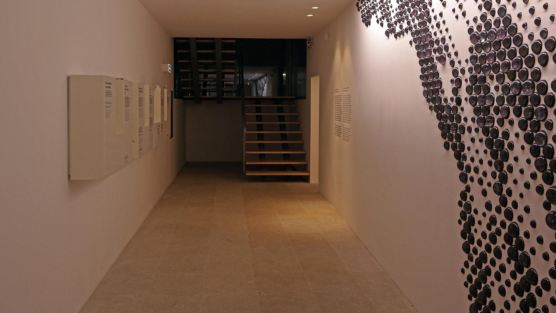 Interior do Centro de Interpretação da Cultura Sefardita do Nordeste Transmontano, Bragança / Bragança / Câmara Municipal de Bragança
