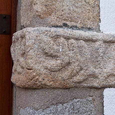 Vestígio judaico na pedra, Castelo de Vide