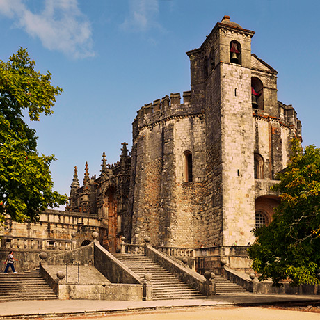 Exterior of the Convent of Christ, Tomar