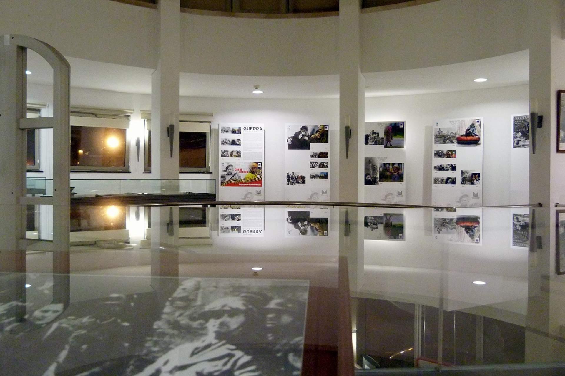 Interior do Espaço Memória dos Exílios - Estoril / Cascais / Fundação D. Luís I