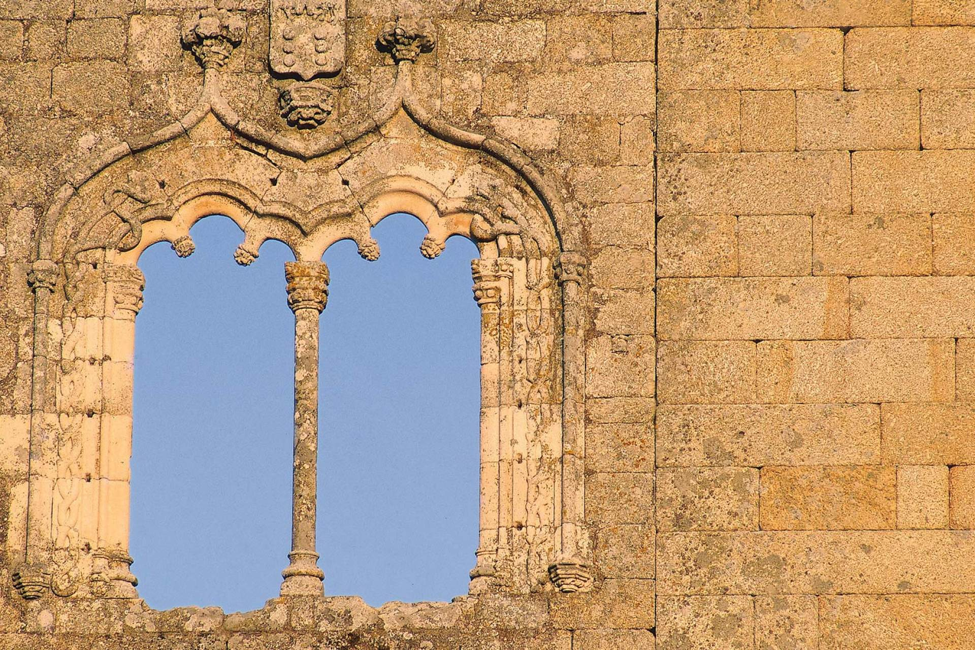 Detail of the Belmonte Castle / Belmonte / Turismo de Portugal