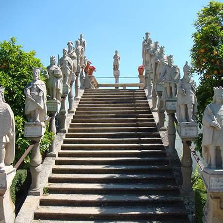 Escadaria do jardim Paço Episcopal, Castelo Branco