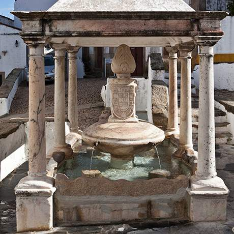 Village Fountain, Castelo de Vide