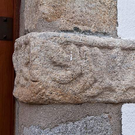 Jewish vestige in the stone, Castelo de Vide