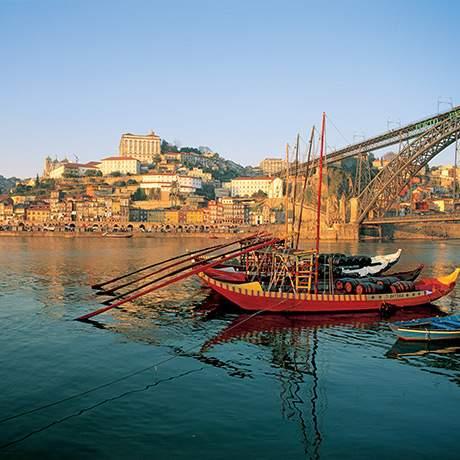 View of Ribeira, Porto